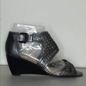 """Enzo Angiolini"" leather wedges - Size 6.5M"
